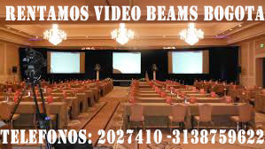 renta video beam bogota